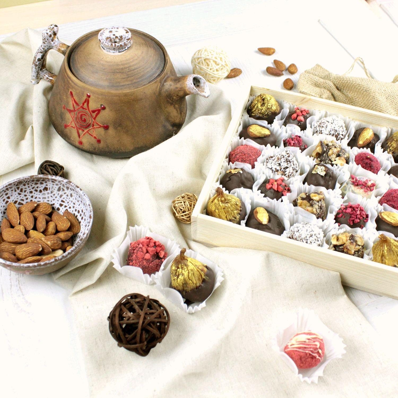 Шоколадные трюфеля, Кулинарные сувениры, Москва,  Фото №1