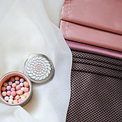 Для дома и интерьера ручной работы. Ярмарка Мастеров - ручная работа Римская штора розово-коричневая. Handmade.