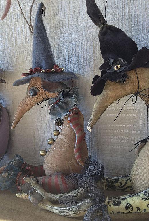 Игрушки животные, ручной работы. Ярмарка Мастеров - ручная работа. Купить Крыса Ведьмочка мягкая игрушка Серия Хэллоуин. Handmade.