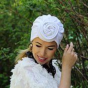 Аксессуары handmade. Livemaster - original item Turban-turban with removable knot.. Handmade.