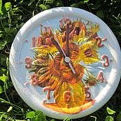Для дома и интерьера ручной работы. Ярмарка Мастеров - ручная работа Часы садовые. Handmade.