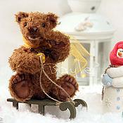 Куклы и игрушки ручной работы. Ярмарка Мастеров - ручная работа Маленький мишка Bruno. Handmade.