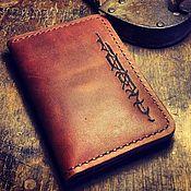 Сумки и аксессуары handmade. Livemaster - original item Leather purse for auto documents. Handmade.