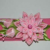 Украшения ручной работы. Ярмарка Мастеров - ручная работа Розовые повязочки. Handmade.