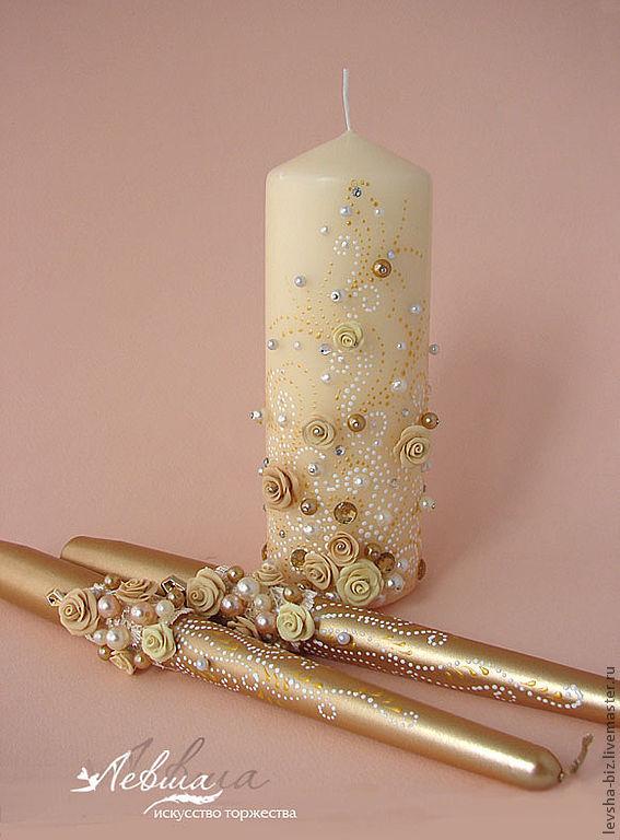Свадебные свечи купить