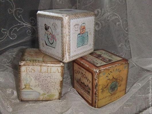 Детская ручной работы. Ярмарка Мастеров - ручная работа. Купить Кубики из чуланчика.. Handmade. Кубики, этикетки, для фотосессий