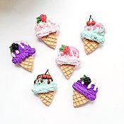 Украшения ручной работы. Ярмарка Мастеров - ручная работа Сладкие брошки с мороженым. Handmade.