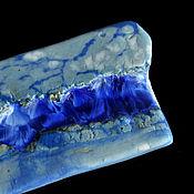 handmade. Livemaster - original item Porcelain plate with crystal glaze. Handmade.