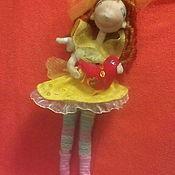 """Витражи ручной работы. Ярмарка Мастеров - ручная работа Куколка фея """"Хранительница любви"""". Handmade."""
