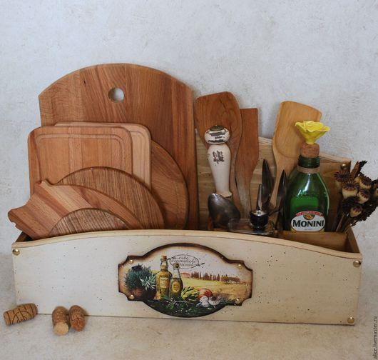 Кухня ручной работы. Ярмарка Мастеров - ручная работа. Купить Подставка-органайзер ОЛИВА. Handmade. Любой цвет, кухня, оливки