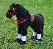 Куклы и игрушки ручной работы. Ярмарка Мастеров - ручная работа Богатырский конь Верный. Handmade.