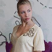 """Одежда ручной работы. Ярмарка Мастеров - ручная работа Блузка """"Варя"""". Handmade."""