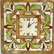 Для дома и интерьера ручной работы. Ярмарка Мастеров - ручная работа Часы Тиффани, 40-40 см. Handmade.