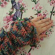 Одежда ручной работы. Ярмарка Мастеров - ручная работа Кардиган - Нежная радуга. Handmade.