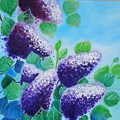 Картины и панно handmade. Livemaster - original item Painting on cotton