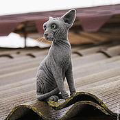 Куклы и игрушки ручной работы. Ярмарка Мастеров - ручная работа Канадский сфинкс. Handmade.
