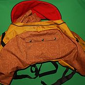 Сумки и аксессуары handmade. Livemaster - original item Bag on the passenger seat of a motorcycle. Handmade.