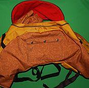 Сумки и аксессуары handmade. Livemaster - original item Bag on the passenger seat of a motorcycle. Handmade.