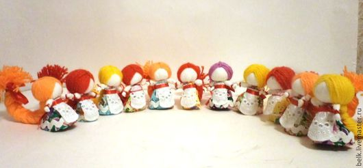 Народные куклы ручной работы. Ярмарка Мастеров - ручная работа. Купить Кукла На счастье или Ржевское счастье. Handmade.