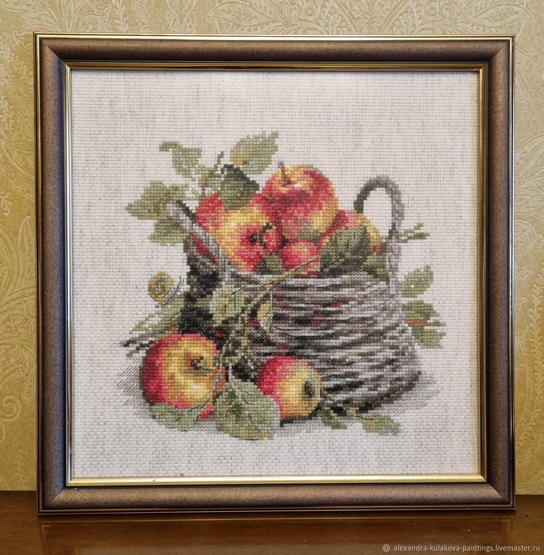 Деревенские яблочки, Картины, Москва,  Фото №1