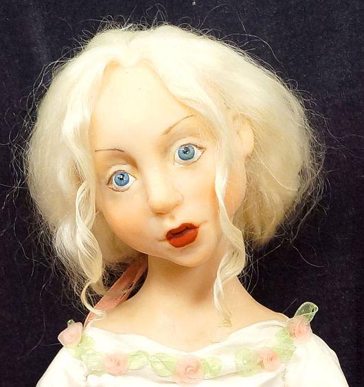 Коллекционные куклы ручной работы. Ярмарка Мастеров - ручная работа. Купить Кукла КРИСТИНА ОРБАКАЙТЕ : А ты буди меня поцелуями нежными нежными.. Handmade.