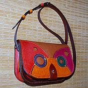 Сумки и аксессуары handmade. Livemaster - original item Multi-colored adult handbag - 4 )). Handmade.