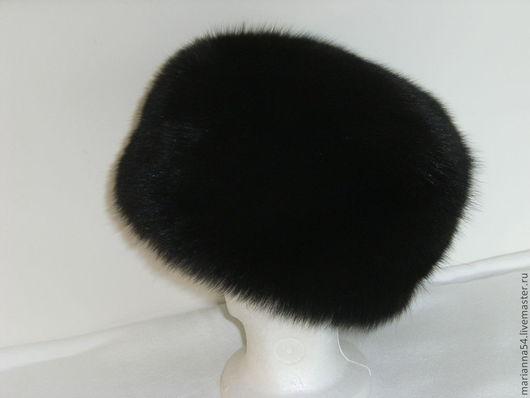 Меховая шапка из гренланского песца итальянской выделки. Р-р 56-58 Марианна Карижская
