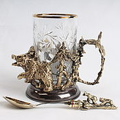 Сувениры и подарки handmade. Livemaster - original item Cup holder