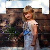 Работы для детей, ручной работы. Ярмарка Мастеров - ручная работа Платье валяное Любовь к балету. Handmade.