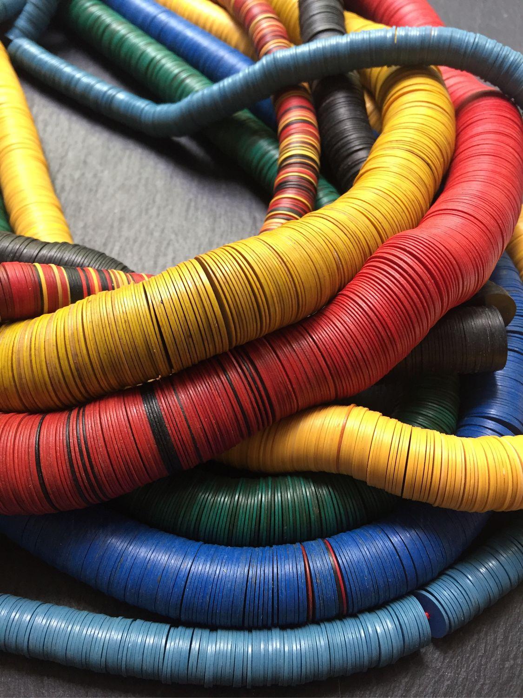БАКЕЛИТ - Хейши бакелитовые из Африки, Шнуры, Москва,  Фото №1