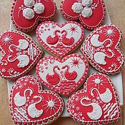 Сувениры и подарки handmade. Livemaster - original item Gingerbread-kozuli.Gingerbread in the Russian style. Handmade.