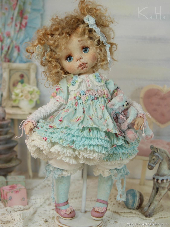 Глаша . Кукла текстильная, Куклы, Тула, Фото №1