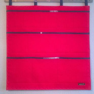 For home and interior handmade. Livemaster - original item Wall organizer City. Handmade.