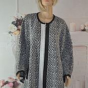 Одежда handmade. Livemaster - original item Knitted poncho, oversize.. Handmade.