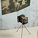 Статуэтки ручной работы. фотоаппарат -фоторамка!!!. Светлана Сахарова. Ярмарка Мастеров. Ретро фотоаппарат, комбинированный