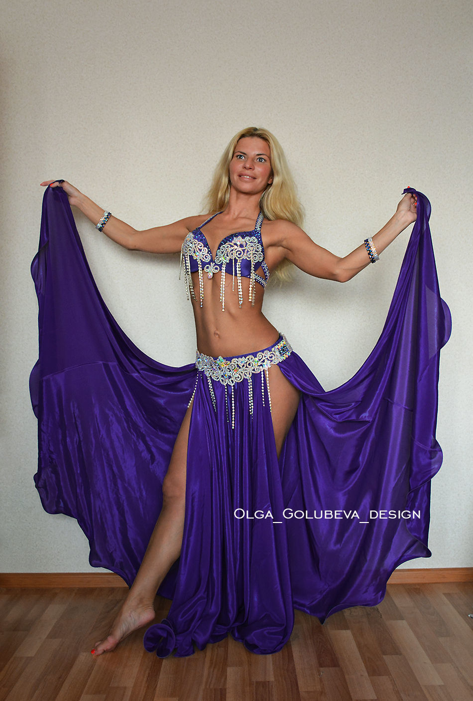 "Костюм для танца живота ""Purple Queen"", Костюмы, Санкт-Петербург,  Фото №1"