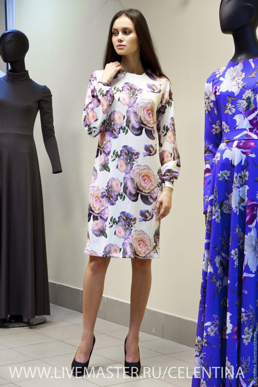 4177f451f74 белое платье с цветочным принтом