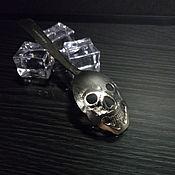 Посуда handmade. Livemaster - original item Spoon Skull. Handmade.