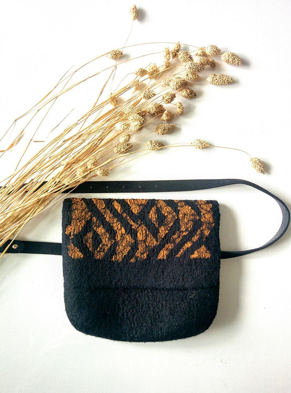 Поясная валяная сумочка, Сумки, Тюмень, Фото №1