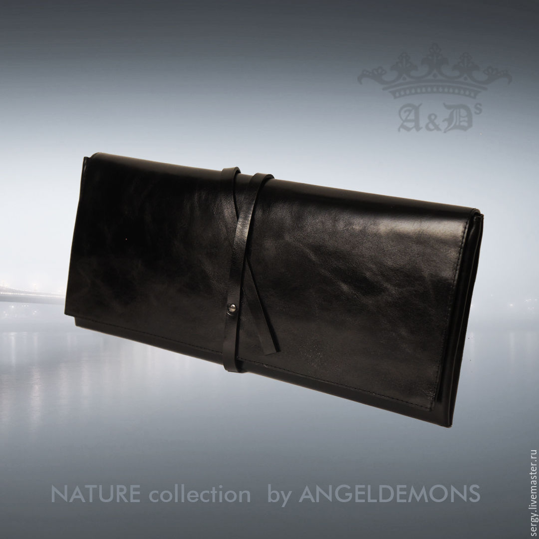 3aa349d69035 Кошельки и визитницы ручной работы. Ярмарка Мастеров - ручная работа. Купить  Клатч кожаный AD's ...