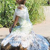 """Свадебный салон ручной работы. Ярмарка Мастеров - ручная работа Платье """"Свежесть"""" свадебное, вечернее. Handmade."""