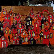 """Для дома и интерьера ручной работы. Ярмарка Мастеров - ручная работа Шкатулка """"Добро пожаловать!"""". Handmade."""
