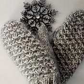Варежки ручной работы. Ярмарка Мастеров - ручная работа Варежки: Варежки,шарфы,снуд спицами. Handmade.