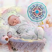 Фен-шуй и эзотерика ручной работы. Ярмарка Мастеров - ручная работа Оберег для ребенка мандала «Маленький Принц». Подарок новорожденному. Handmade.