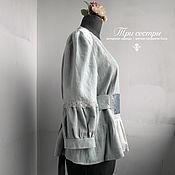 """Одежда ручной работы. Ярмарка Мастеров - ручная работа Блуза """"Селадоновая"""". Handmade."""