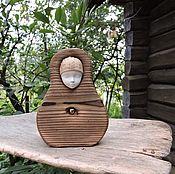 Подарки к праздникам ручной работы. Ярмарка Мастеров - ручная работа Сердечная - деревянная девочка. Handmade.