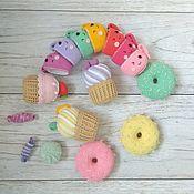 Куклы и игрушки ручной работы. Ярмарка Мастеров - ручная работа Вкусная еда (набор). Handmade.