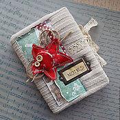 Блокноты ручной работы. Ярмарка Мастеров - ручная работа Уютный блокнот. Handmade.