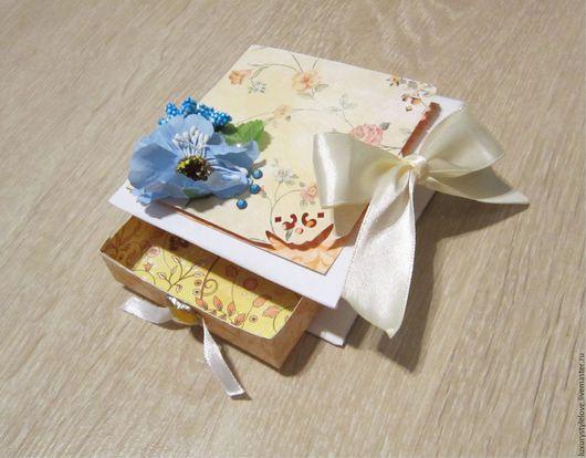 Персональные подарки ручной работы. Ярмарка Мастеров - ручная работа. Купить подарочная коробка. Handmade. Комбинированный, коробка для денег