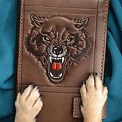 """Сумки и аксессуары handmade. Livemaster - original item Leather wallet """"BEAST OF PREY"""". Handmade."""